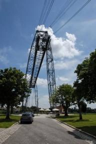 Pont transbordeur du Martrou