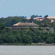 Fort Paté vu du Fort Médoc