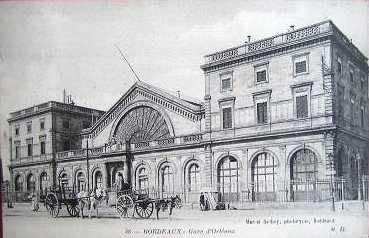 La Gare au début du XXe siècle
