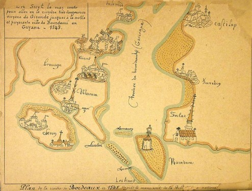Carte de 1545
