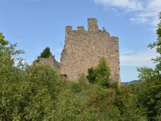 Balade autour du Château de Peychelard (Lamastre)