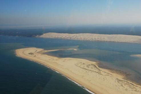 Vue aérienne de la Dune du Pyla